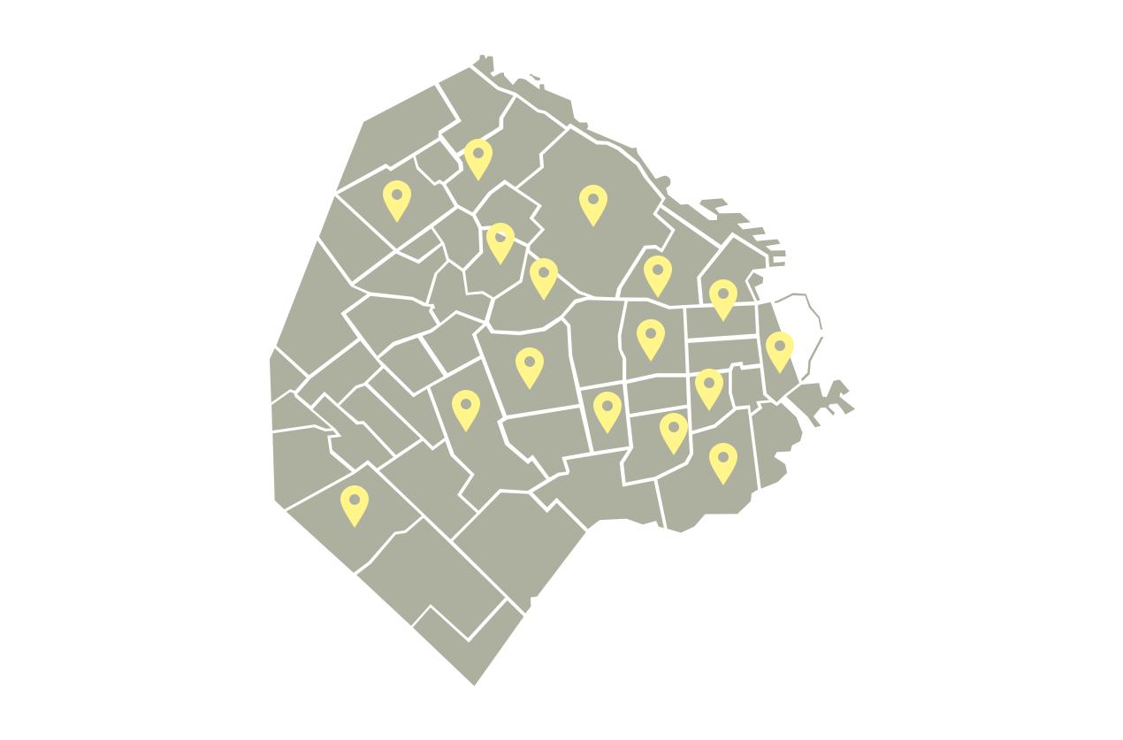 Mapa: donde encontrarnos